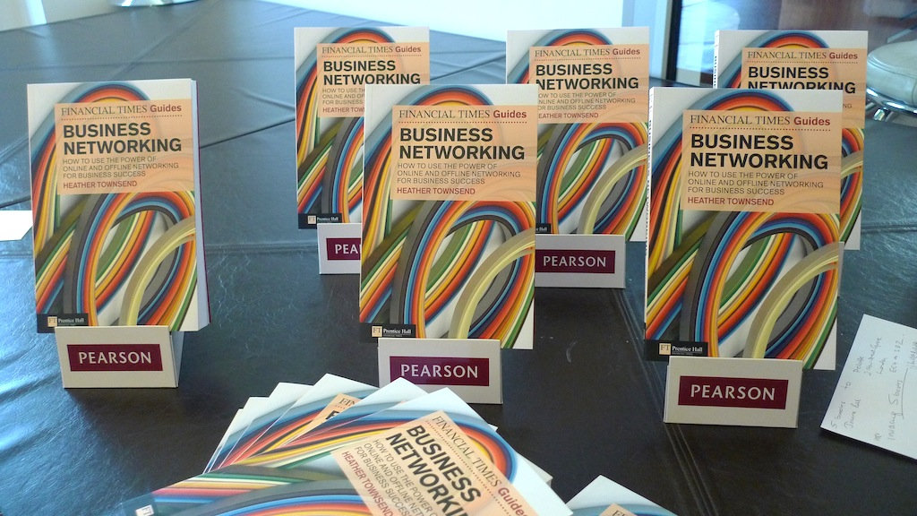 A valuable book on business networking