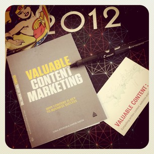 The Valuable Content Marketing Book – the story so far