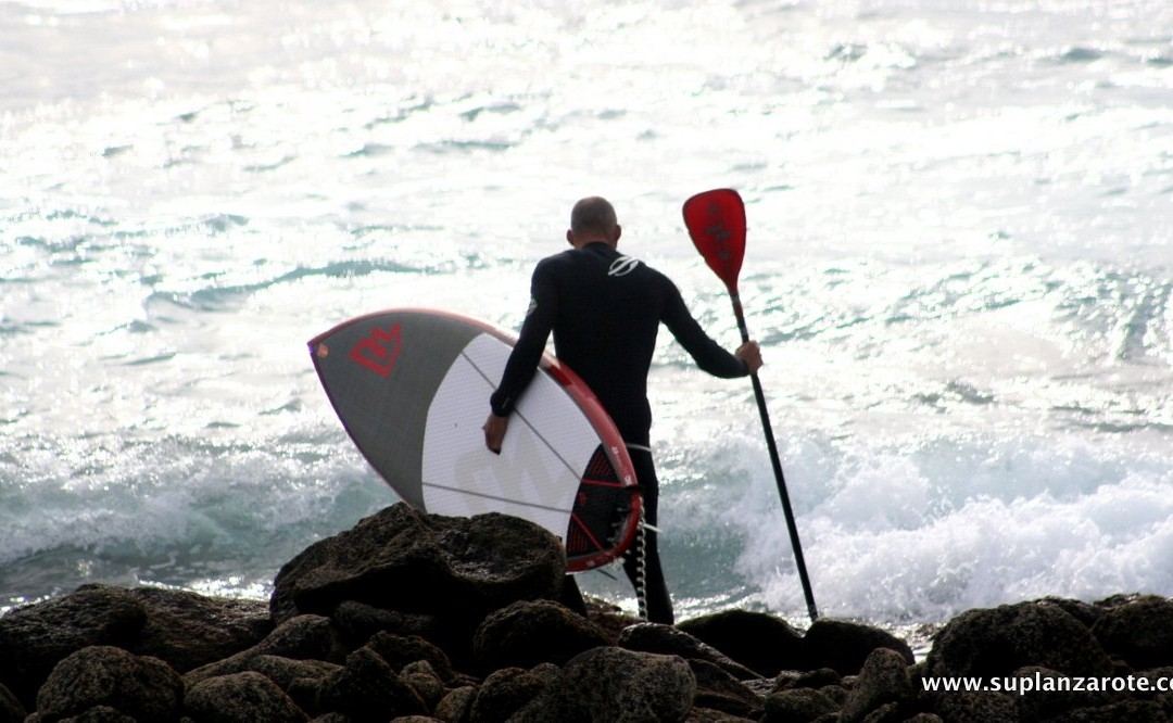 Paddle boarding: lessons in life – and content marketing – from SUP Lanzarote