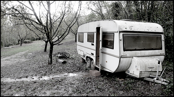Embarrassing caravan. Image by Lizzie Everard.