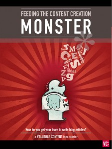 VC ebook feeding the content creation monster