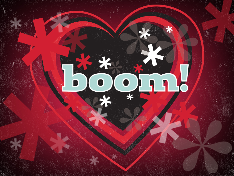 Boom heart image from Valuable Content Marketing