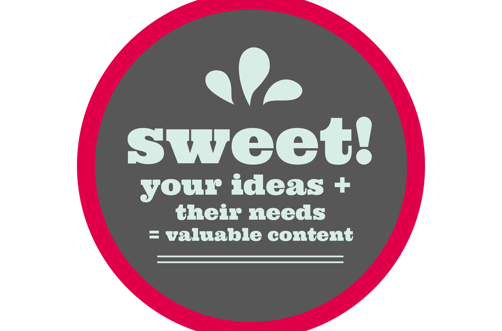 How to pinpoint your content sweet spot