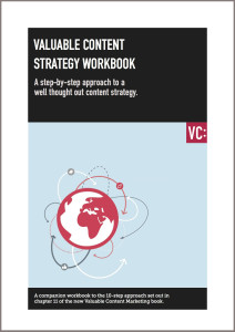 Valuable content strategy workbook