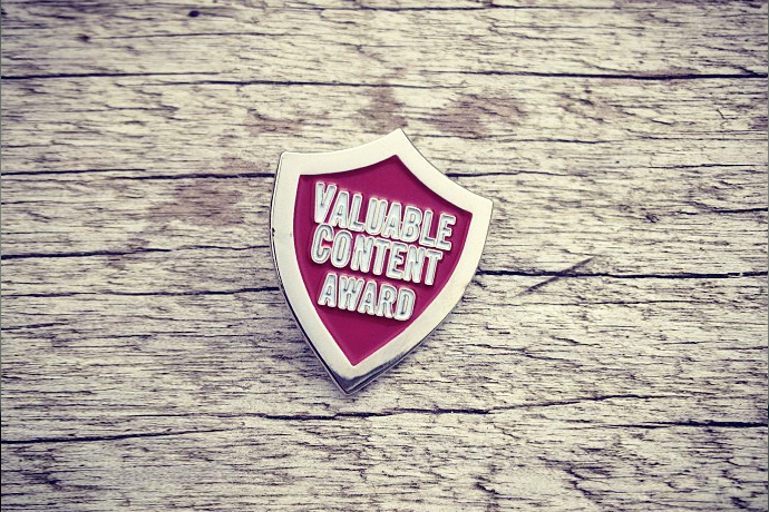 Valuable Content Awards