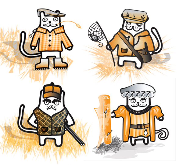 Sales Cats - 4 sales personas for your content from Trevor Lever