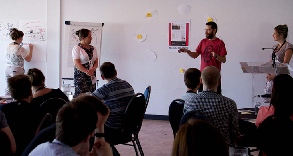 UX Bristol – 'Think like a content strategist' workshop