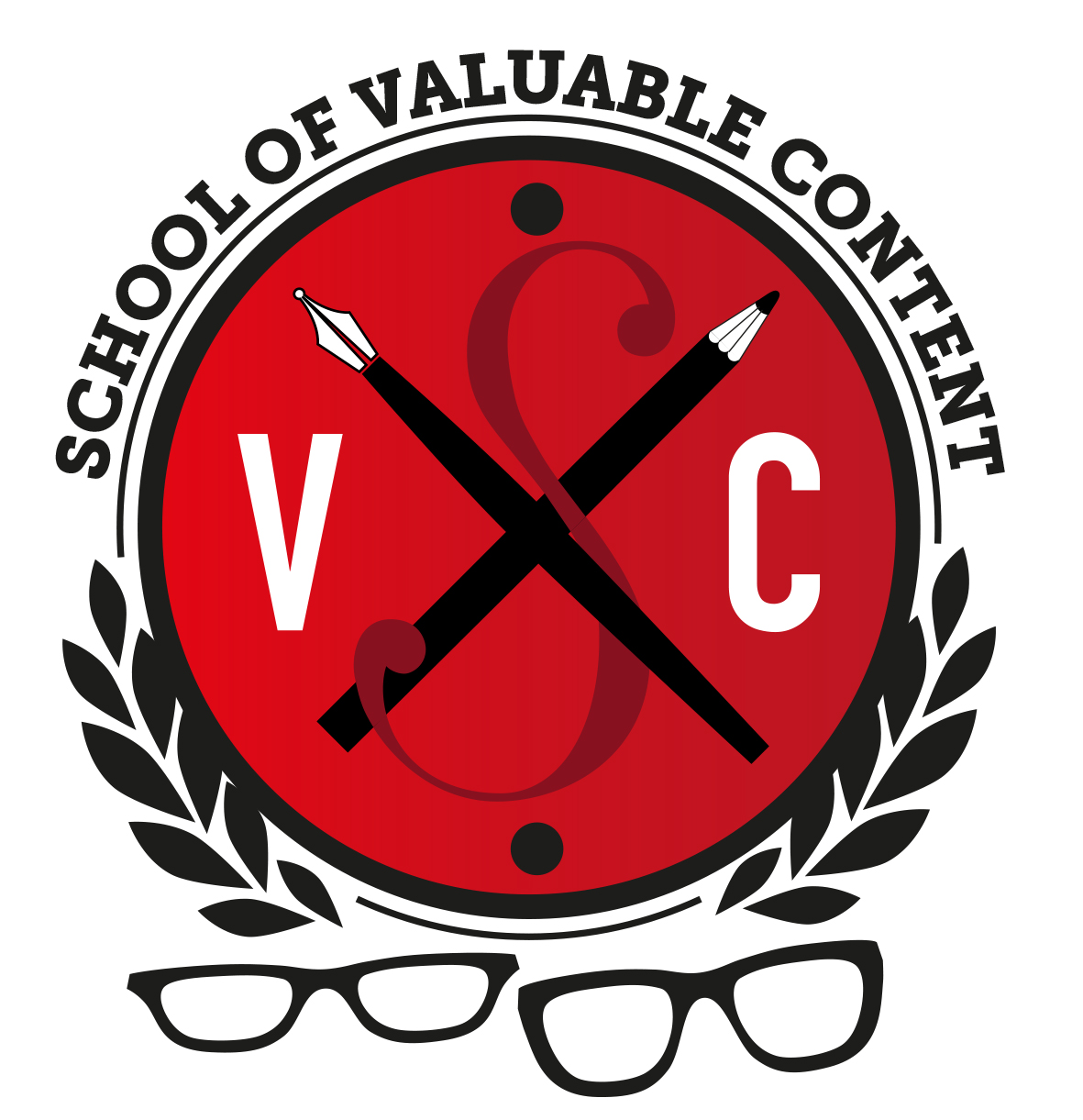 School of Valuable Content school crest