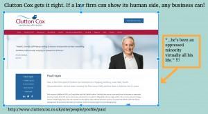 Clutton Cox human marketing