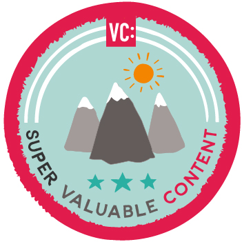 Super Valuable Content badge