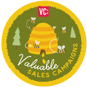 Valuable Sales Campaign badge