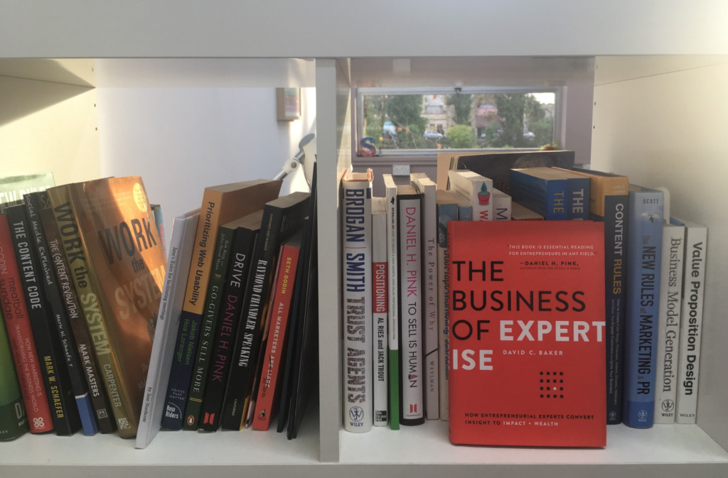 Valuable Content book shelfie