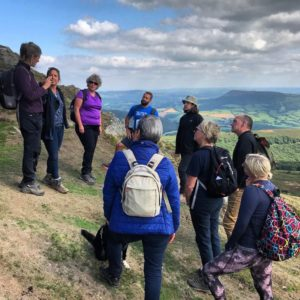 Big content thinking on Sugarloaf Mountain in the Brecons